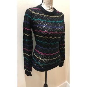 Sweaters - Vintage Chić Wavy Sweater Size M